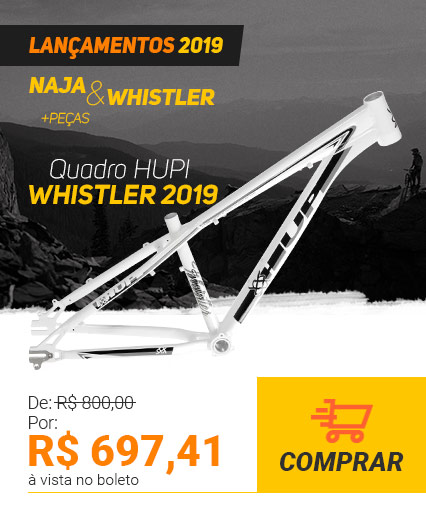Quadro HUPI Whistler 2019 Branco Horizontal