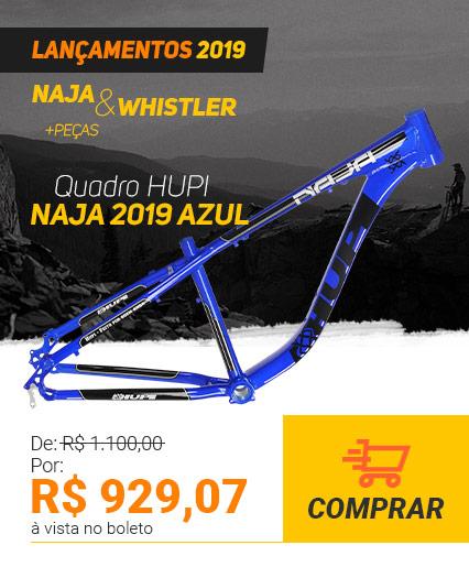Quadro HUPI Naja 2019 Azul Vertical