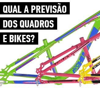 Previsão quadros e bikes HUPI