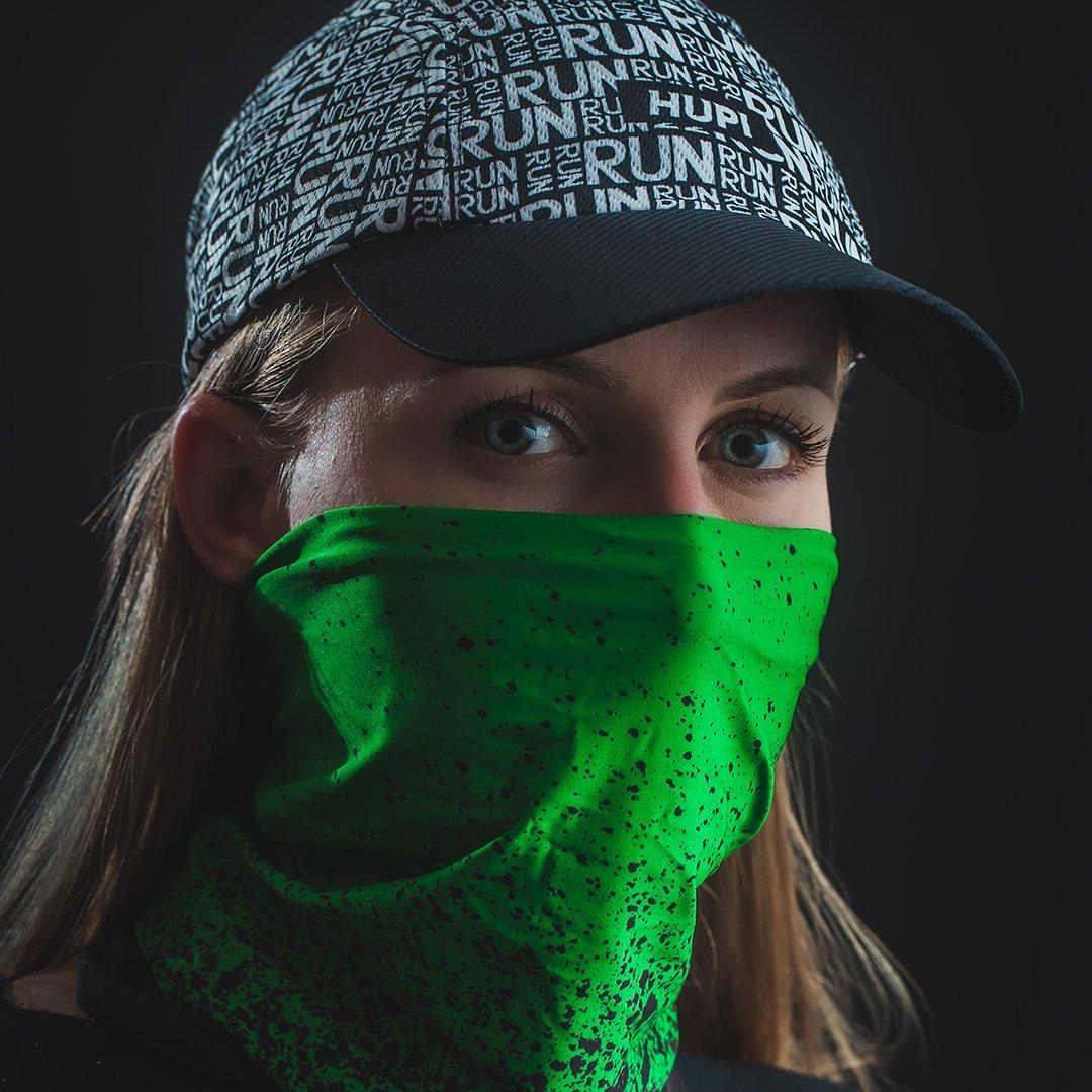 Bandana HUPI - Splash Verde