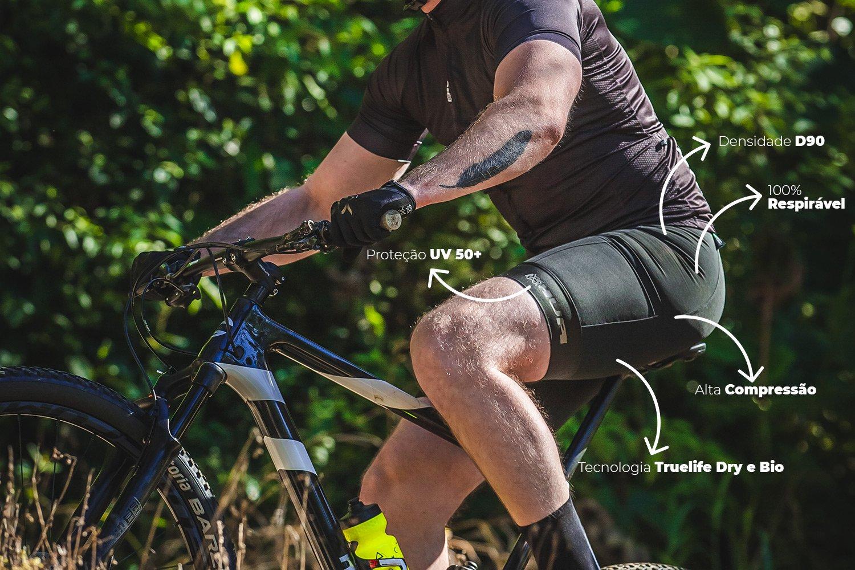 Bermuda Ciclismo HUPI Black