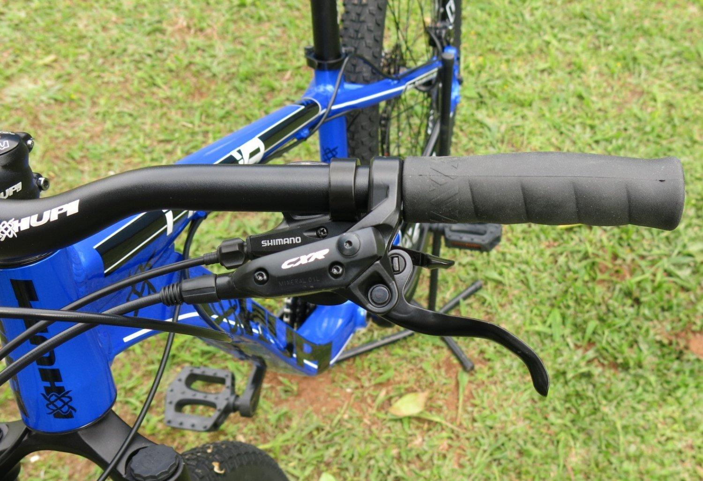"""Bicicleta HUPI Naja 27.5"""" Hidráulica 2019 Azul"""