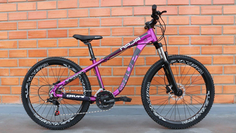 "Bicicleta HUPI Naja 27.5"" Hidráulica 2019 Roxa"