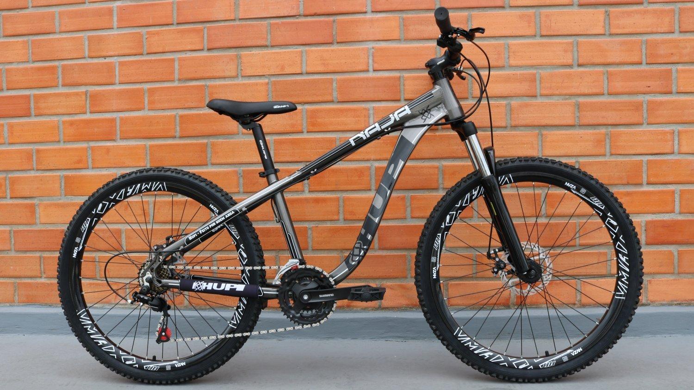 "Bicicleta HUPI Naja 27.5"" Mecânica 2019 Grafite"