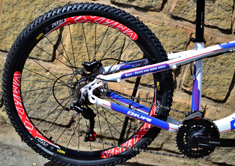 Bicicleta HUPI Naja Hidráulica 2019 Branca