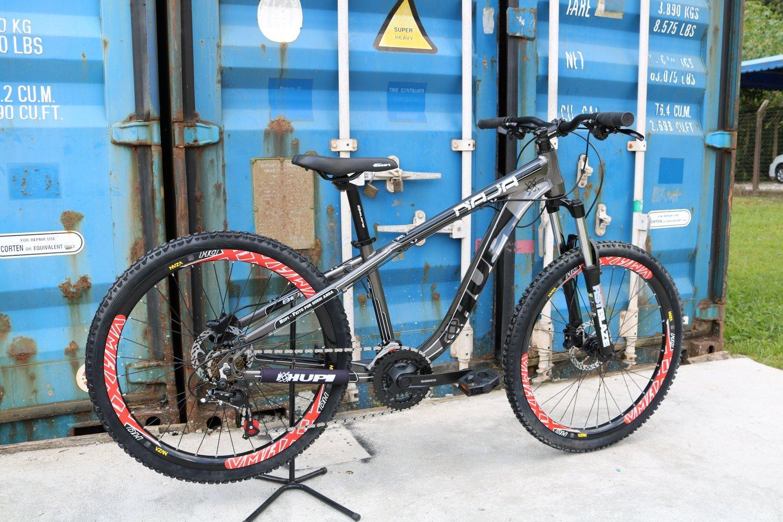 Bicicleta HUPI Naja Hidráulica 2019 Grafite