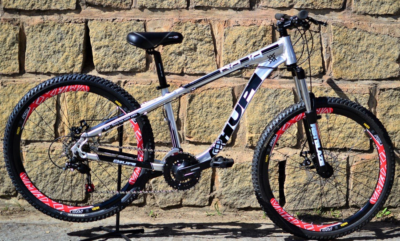 Bicicleta HUPI Naja Mecânica 2019 Raw Polido