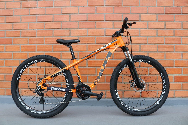"""Bicicleta HUPI Naja One 26"""" V7 Alaranjada"""