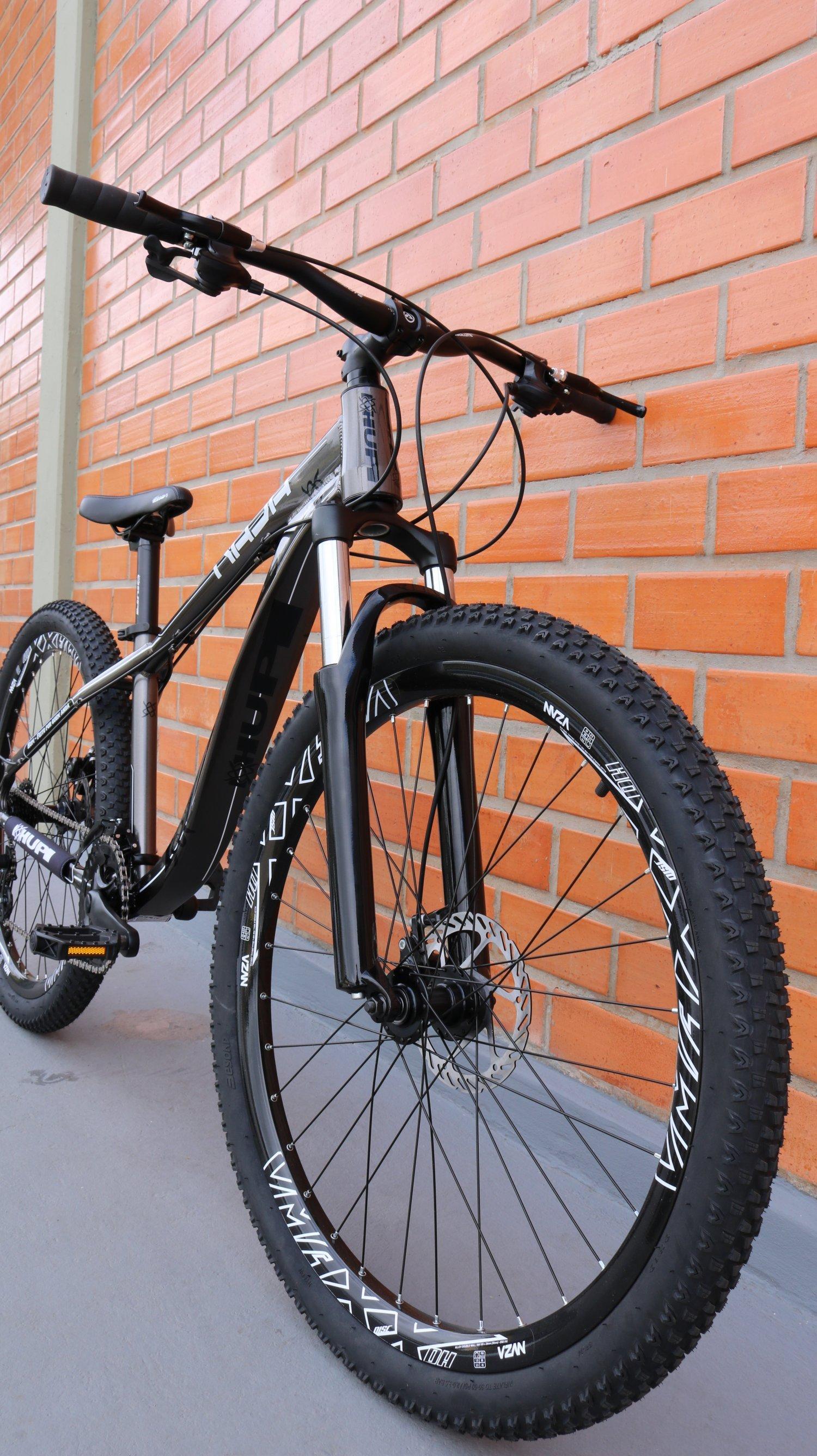 "Bicicleta HUPI Naja One 26"" 2019 Grafite"
