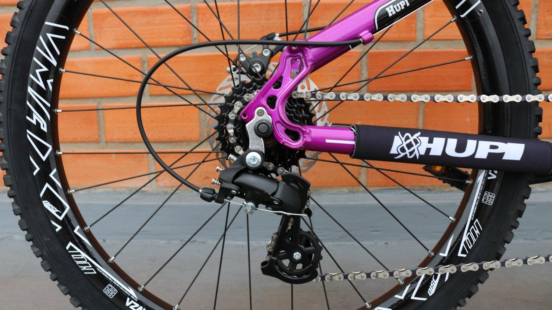"Bicicleta HUPI Naja One 26"" 2019 Roxo"