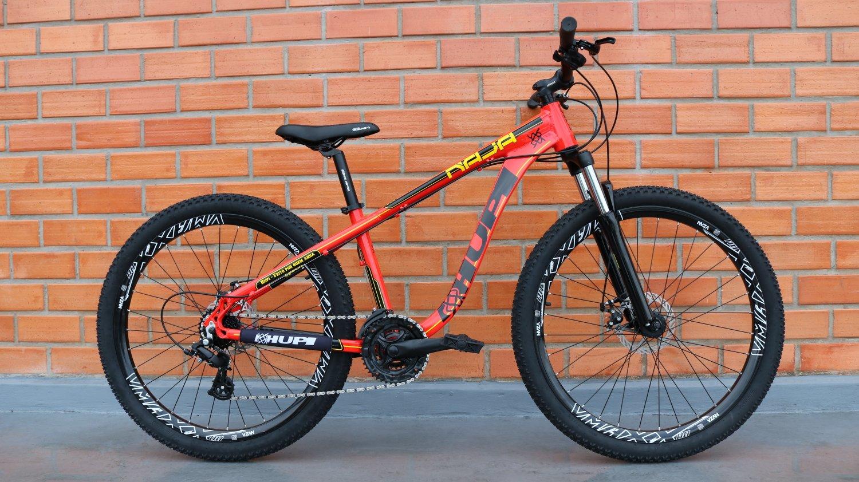"""Bicicleta HUPI Naja One 26"""" 2019 Vermelha"""