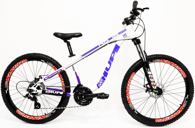 """Bicicleta HUPI Naja One 26"""" V7 Branca"""