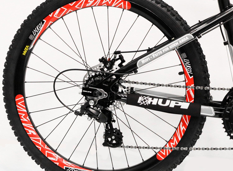 "Bicicleta HUPI Naja One 26"" V7 Preta"