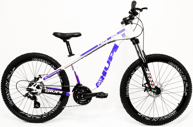 """Bicicleta HUPI Naja One 27.5"""" V7 Branca"""