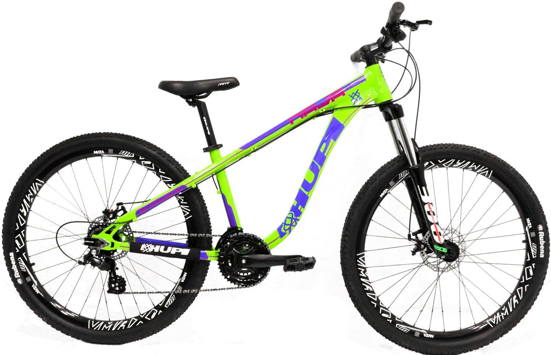 """Bicicleta HUPI Naja One 27.5"""" V7 Verde"""