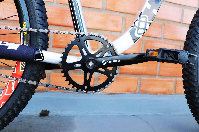 Bicicleta HUPI Naja Single Speed Mecânica RAW