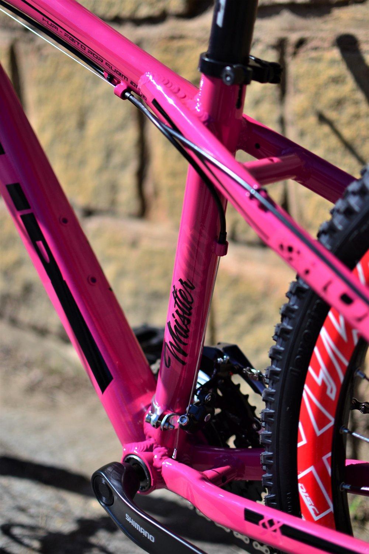 Bicicleta HUPI Whistler Mecânica V5 Pink