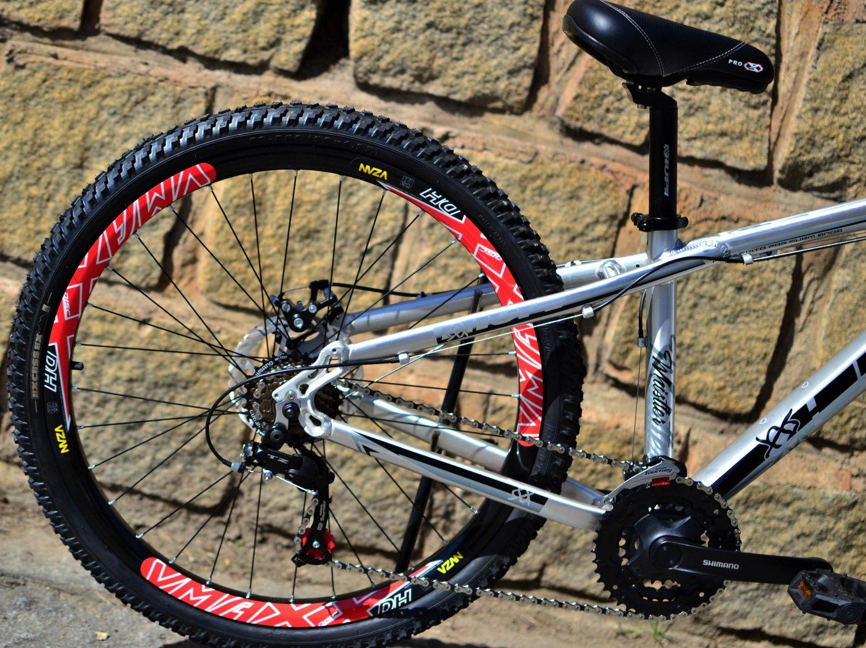 Bicicleta HUPI Whistler Mecânica 2019 RAW Polido