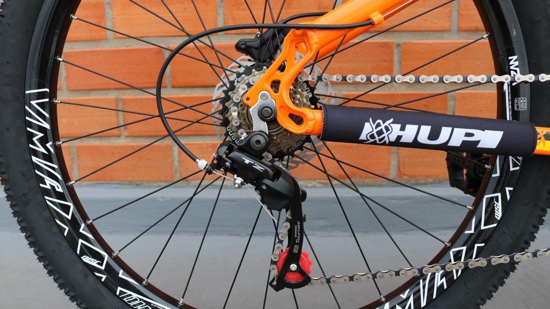 "Bicicleta HUPI Whistler 27.5"" Hidráulica 2019 Alaranjada"
