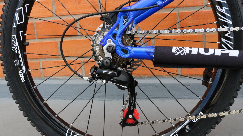 """Bicicleta HUPI Whistler 27.5"""" Hidráulica 2019 Azul"""