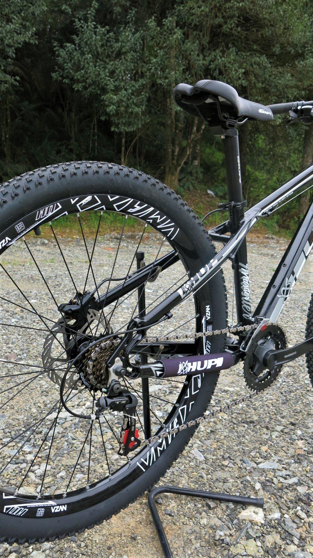 "Bicicleta HUPI Whistler 27.5"" Hidráulica V5 Preta"