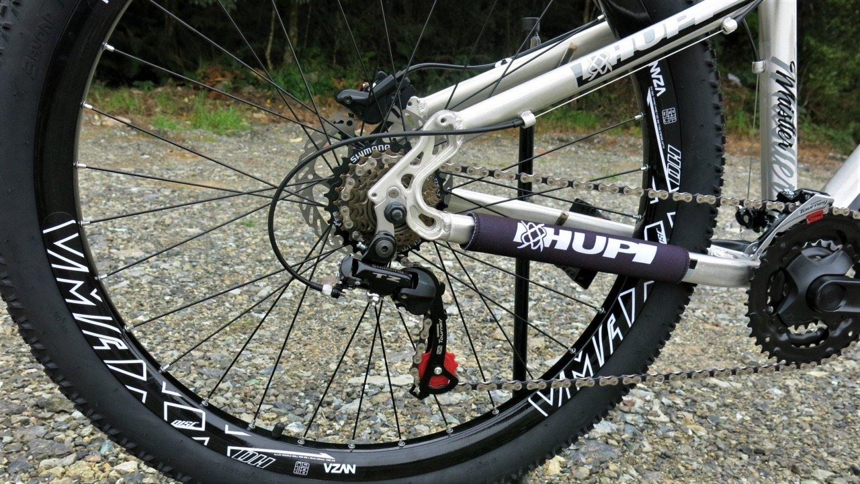 "Bicicleta HUPI Whistler 27.5"" Hidráulica V5 RAW"