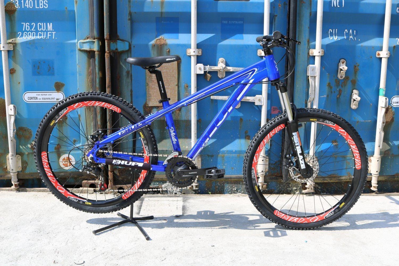 "Bicicleta HUPI Whistler 27.5"" Mecânica V5 Azul"