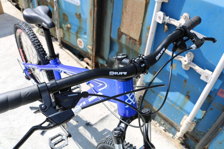"""Bicicleta HUPI Whistler 27.5"""" Mecânica 2019 Azul"""