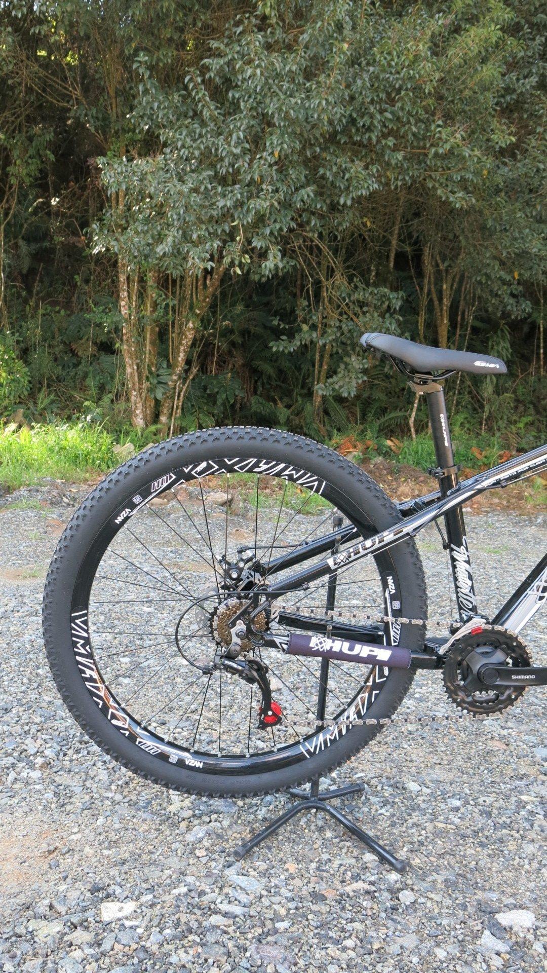 "Bicicleta HUPI Whistler 27.5"" Mecânica V5 Preta"