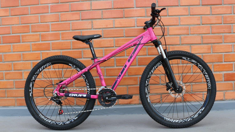 Bicicleta HUPI Whistler Hidráulica V5 Pink