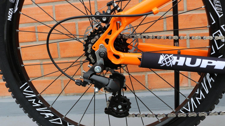 """Bicicleta HUPI Whistler One 26"""" V5 Alaranjada"""