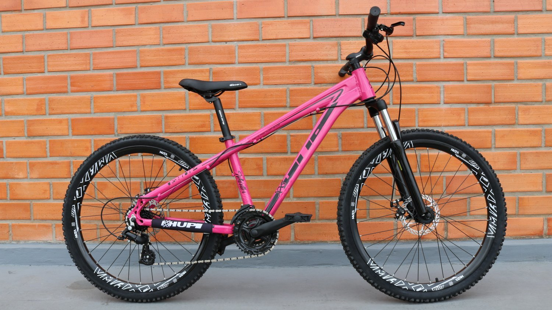 "Bicicleta HUPI Whistler One 26"" V5 Pink"