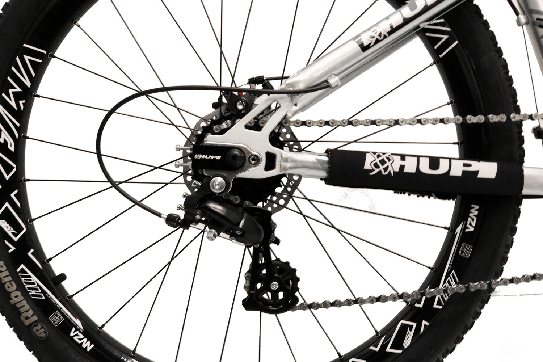 "Bicicleta HUPI Whistler One 26"" V5 Raw Polido"