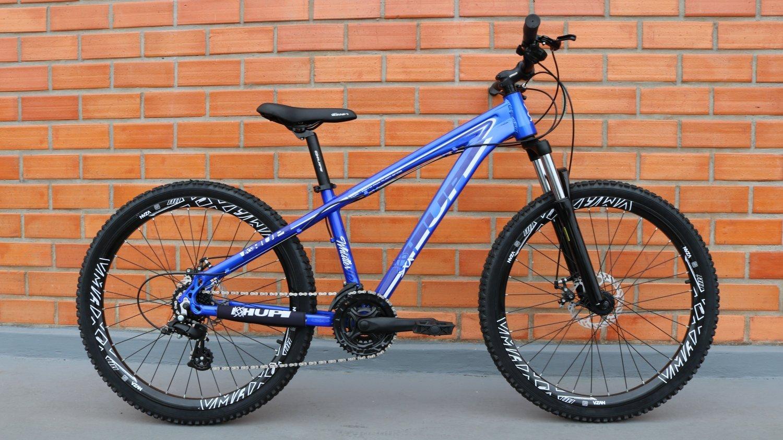 "Bicicleta HUPI Whistler One 27.5"" V5 Azul"