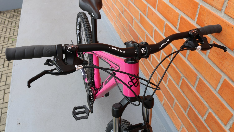 "Bicicleta HUPI Whistler One 27.5"" 2019 Pink"