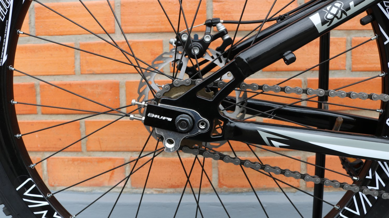 Bicicleta HUPI Whistler Single Speed Mecânica Preta