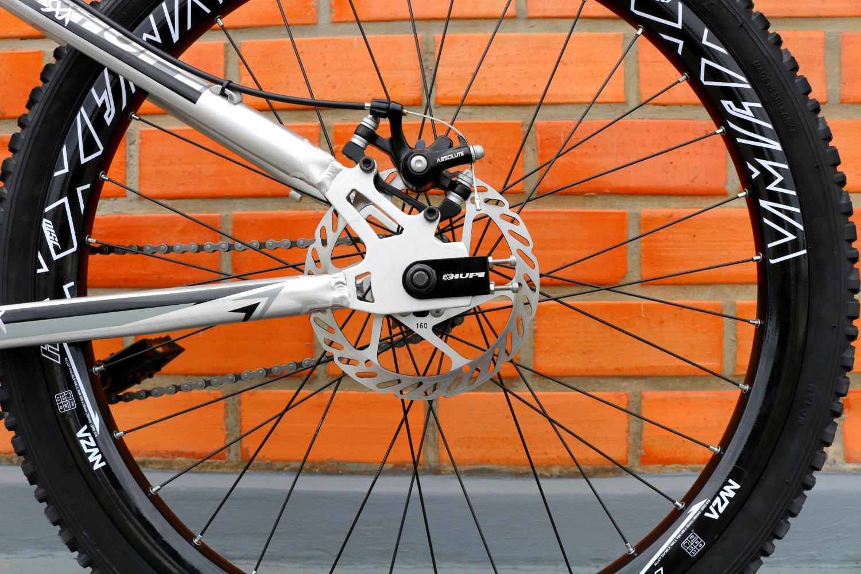 Bicicleta HUPI Whistler Single Speed Mecânica RAW