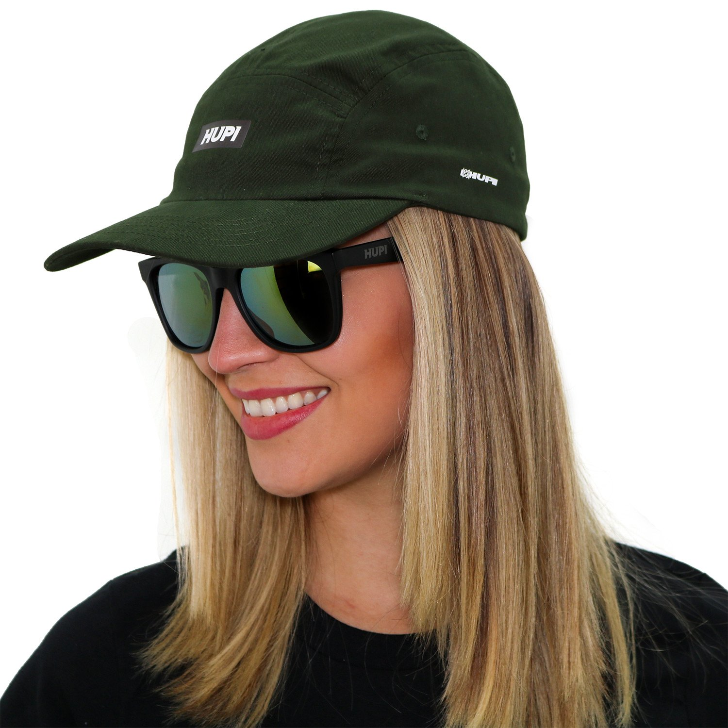 Boné HUPI Sunday 5 Panel Verde
