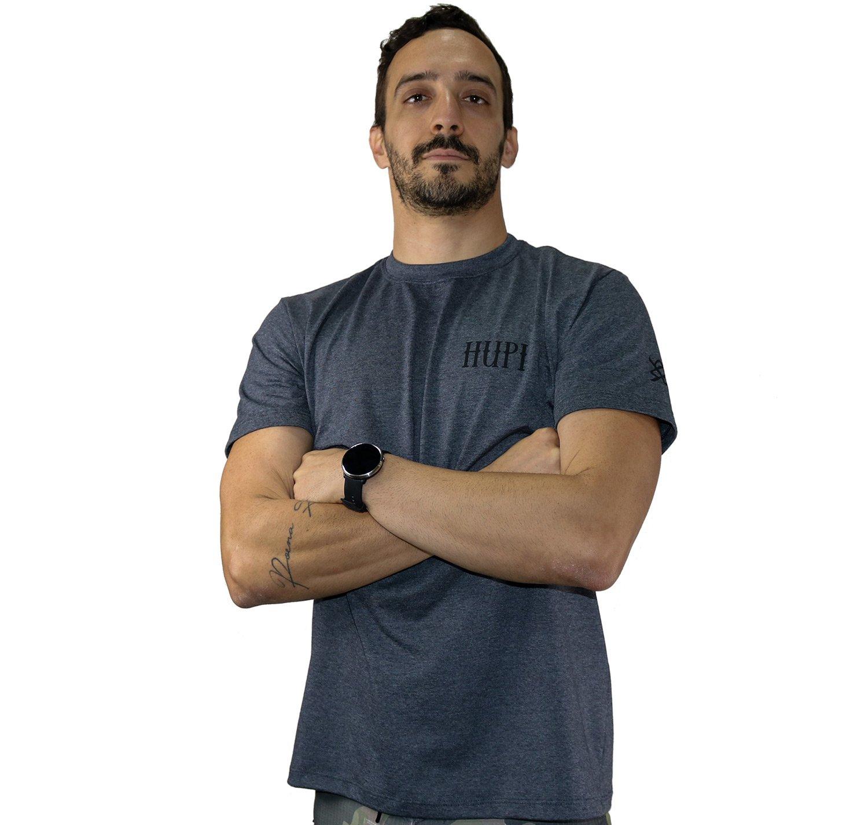 Camiseta Casual HUPI Asas Mescla