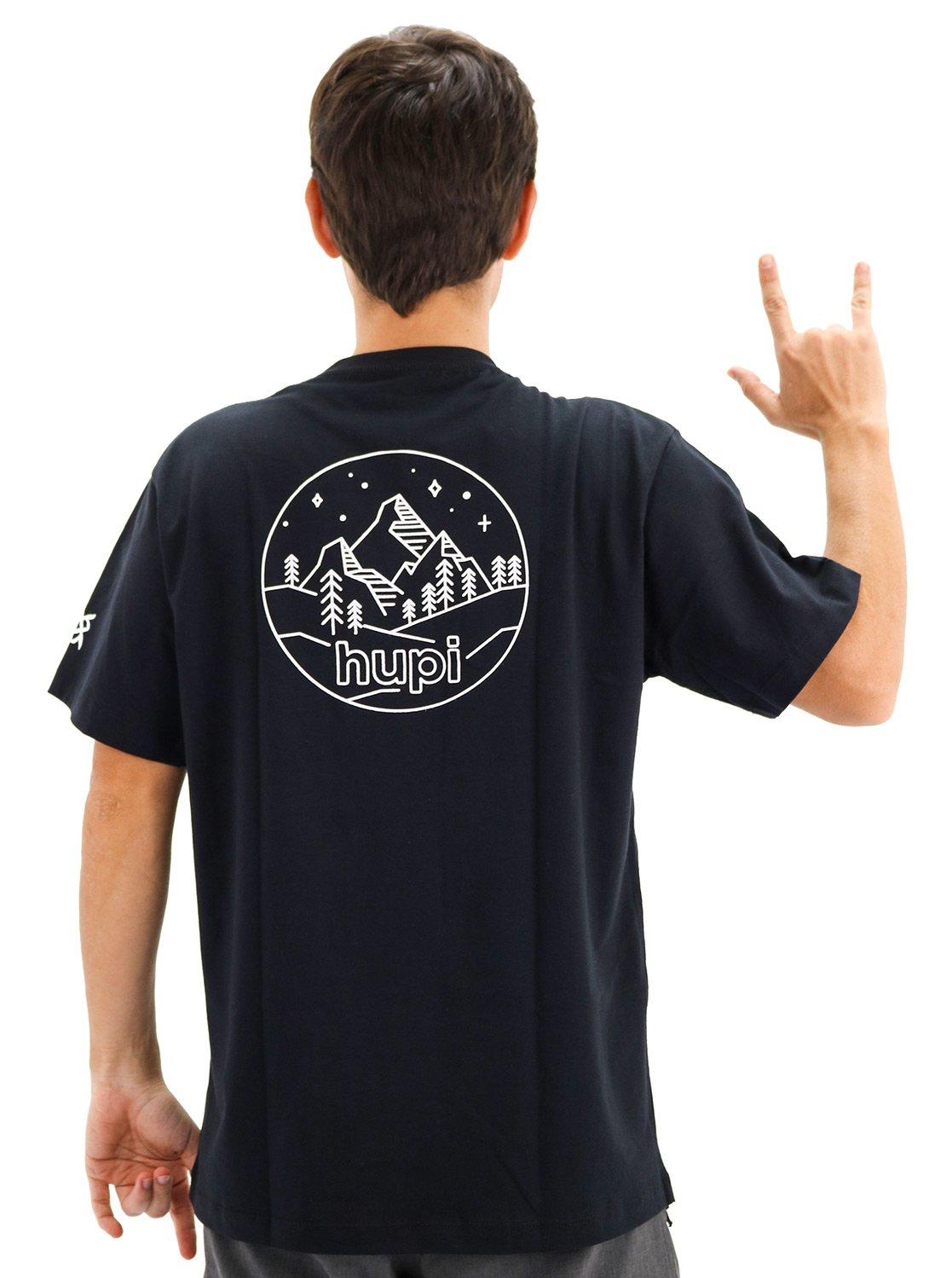 Camiseta Casual HUPI Colorado Preto
