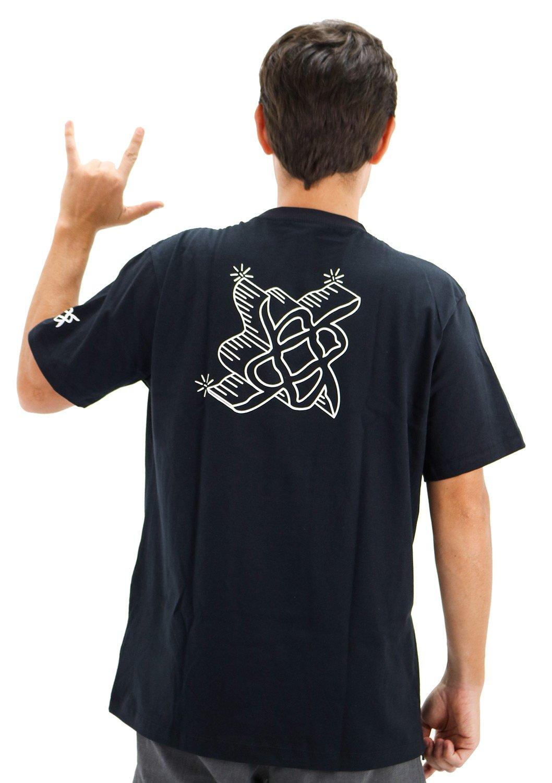 Camiseta Casual HUPI Deep Preto