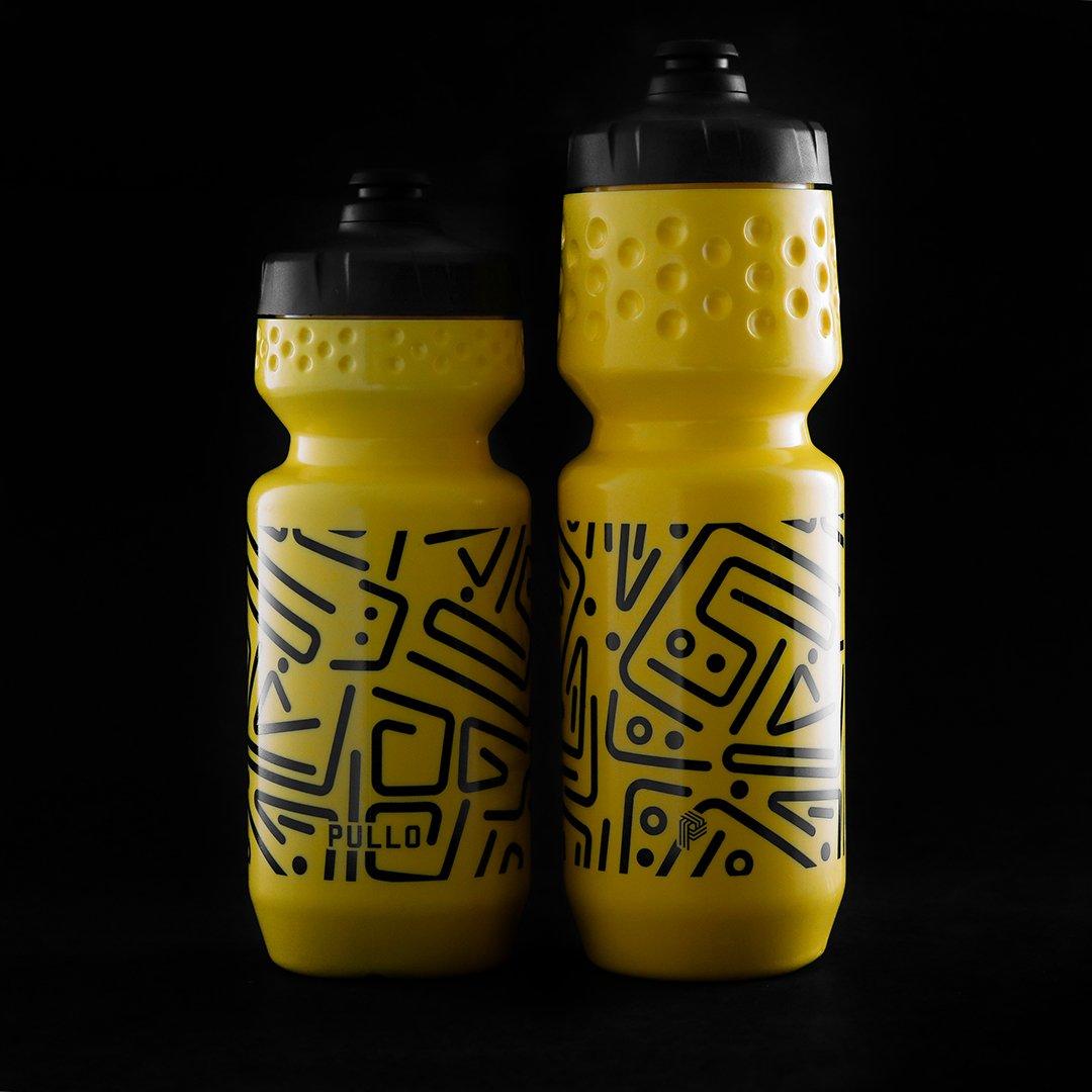 Garrafa Pullo Nazca Amarelo 600ml