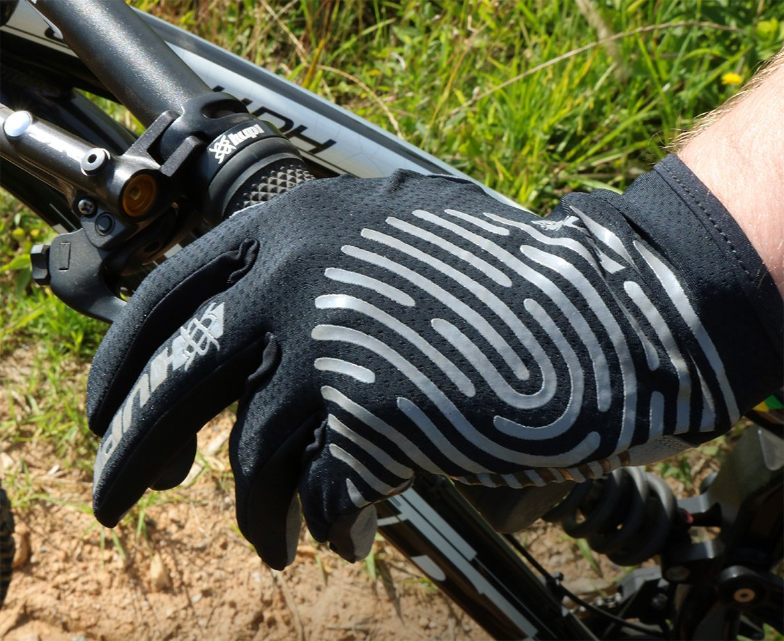 Luva Ciclismo HUPI Dedo Longo Biometria Full Preto