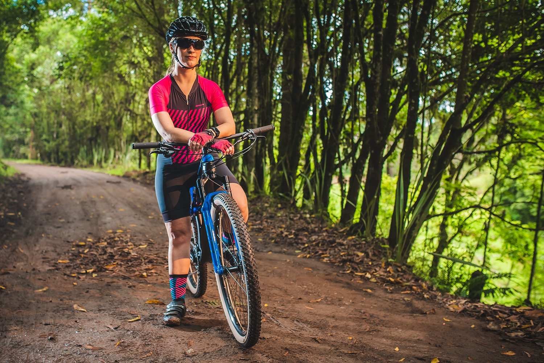 Macaquinho Ciclismo Feminino HUPI Canvas