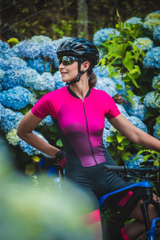 Macaquinho Ciclismo Feminino HUPI Delicata