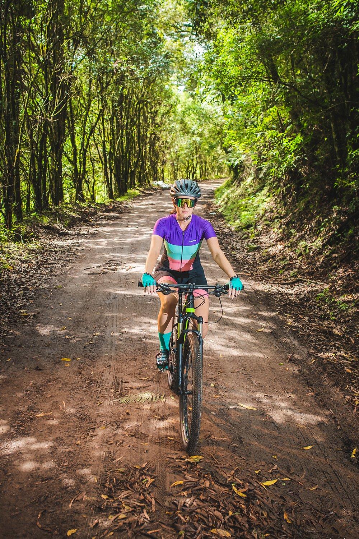 Macaquinho para Ciclismo Feminino HUPI Napolitano