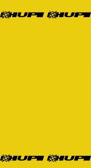 Bandana HUPI - Amarelo Liso