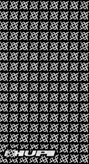 Bandana Preto HUPI - Simbol