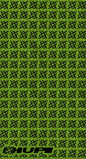 Bandana HUPI - Simbol Verde