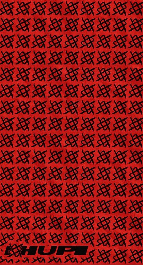 Bandana HUPI - Simbol Vermelho